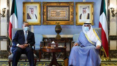 رئيس الوزراء يستقبل وزير الشؤون الخارجية الموريتاني