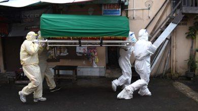 14 ساعة لنقل جثة في جاكرتا.. زيادة كبيرة في أعداد ضحايا كوفيد