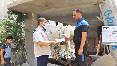 جمعية الرحمة العالمية توفر مساكن مؤقتة لـ250 أسرة بغزة