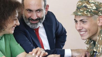 رئيس وزراء أرمينيا مستعد ان يبادل ابنه بأسرى حرب أرمن