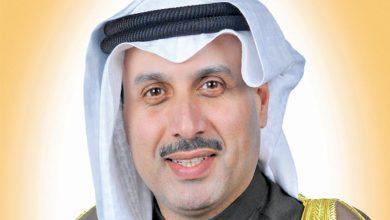 الشيخ حمد الجابر يعزي أسرة شهيد الواجب الرشيدي