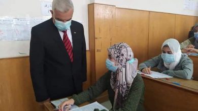 رئيس جامعة المنوفية يتفقد اختبارات الفصل الدراسي الثاني بالنوعية للعام الجامعى٢٠٢٠/ ٢٠٢١