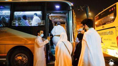 3000 حافلة نقلت المعتمرين من وإلى الحرم