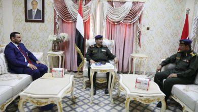 حيدان يناقشمع محافظ سقطرى الاوضاع الأمنية بالمحافظة