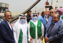 وصول الدفعة الثانية من منحة المشتقات النفطية السعودية لحضرموت
