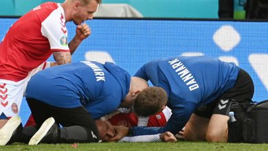 «CPR».. إجراء طبي أنقذ حياة إريكسن لاعب الدنمارك
