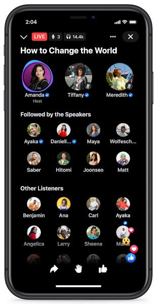 ما هي ميزة غرف الصوت الحي Live Audio Rooms من فيسبوك؟