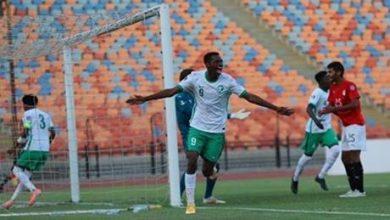 السعودية تطيح بمصر وتتأهل لنهائي كأس العرب للشباب