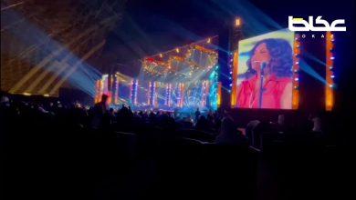 الفنانة أنغام تبدأ وصلتها الغنائية في الحفل لتكون مسك الختام في الحفل الذي يشاركها به محمد الشرنوبي وتامر عاشور ضمن حفلات صيف جدة - أخبار السعودية