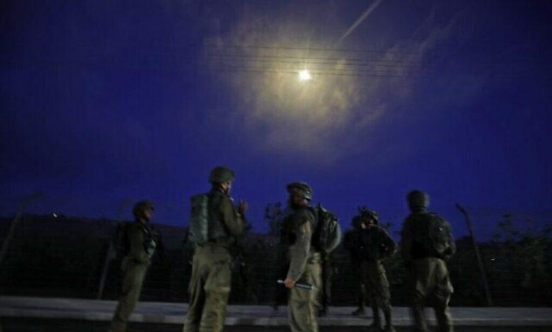 بعد بحث استمر لساعات طويلة، القوات الإسرائيلية تقبض على مهاجريّن دخلا إسرائيل من لبنان