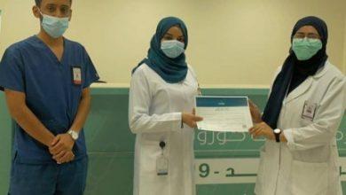 دلال تحقق أفضل أداء تطوعي في قسم مركز لقاحات كورونا بـ«مجمع عبدالله الطبي» - أخبار السعودية