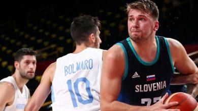 سلوفينيا تهزم الأرجنتين في ظهورها الأول في سلة الأولمبياد