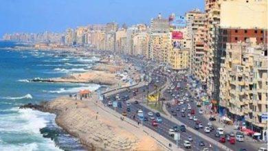 شواطئ الإسكندرية قبلة في عيد الاضحى