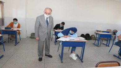 طلاب الثانوية (أدبي) يؤدون امتحان مادة التاريخ اليوم