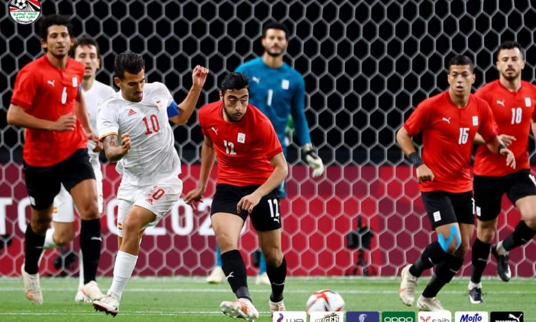 كاف: عرض دفاعي رائع من الفراعنة أمام إسبانيا في الأولمبياد
