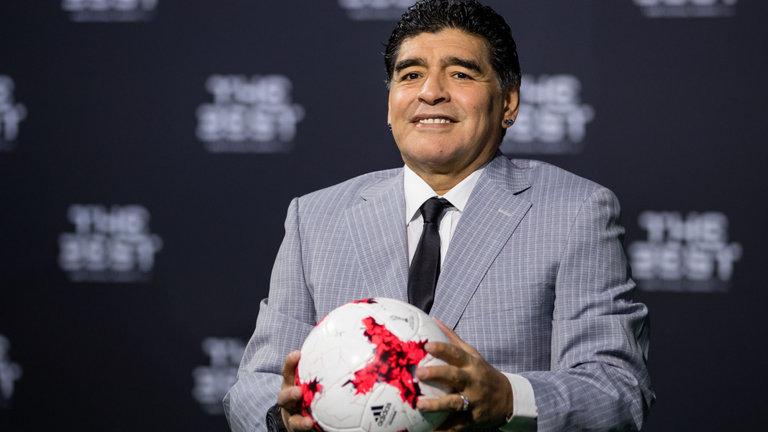 مارادونا قد يجمع بطلي يورو وكوبا أمريكا في مباراة ودية