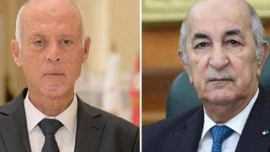 محادثات هاتفية بين الرئيسين التونسي والجزائري