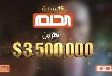 مسابقة الحلم وطريقة الاشتراك بالمسابقة للفوز 125 ألف دولار
