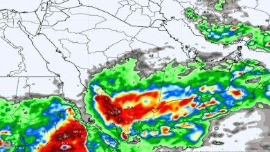 تسميات: نراقب الحالة المطرية المتوقعة غدا.. وإطلاق اسم عليها حال تميزها