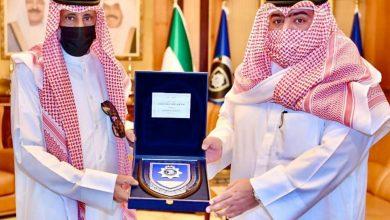 العلي يستقبل أسرة شهيد الواجب الشرطي عبدالعزيز الرشيدي