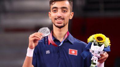 أول ميدالية عربية في طوكيو... التونسي الجندوبي يحرز فضية التايكواندو
