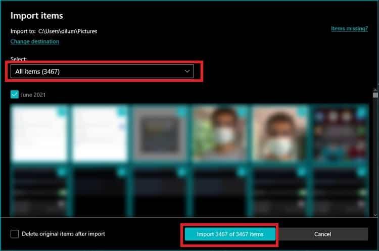 كيفية نقل الصور من آيفون إلى حاسوب ويندوز 10