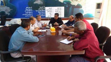 الشاذلي يلتقي بالمدير التنفيذي لصندوق النظافة والتحسين بمحافظة عدن