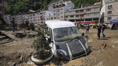 Floods, Landslides in Northeast Turkey Leave Casualties