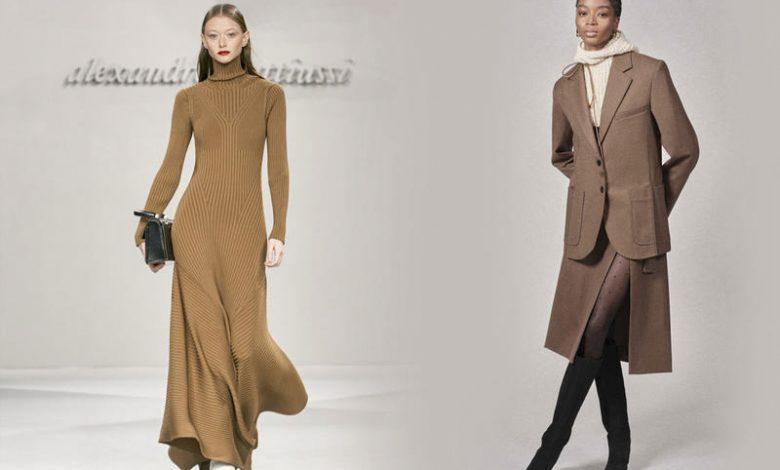 أزياء بألوان ترابية موضة خريف 2021