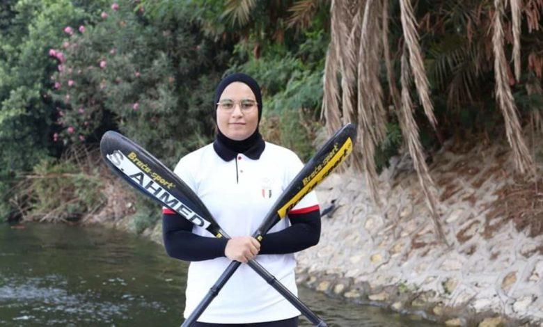أولمبياد طوكيو .. سما فاروق تودع منافسات الكياك من ربع النهائي