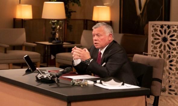 الملك الأردني يبحث مع وفد إماراتي برئاسة مستشار الأمن الوطني