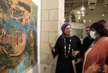 """تحت شعار""""الفن ذاكرة الامة"""".. افتتاح المعرض العام الـ42 بقصر الفنون في مصر"""
