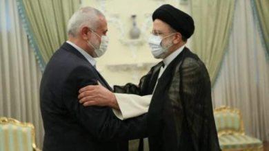 تفاصيل اجتماع وفد قيادة حماس برئاسة هنية مع الرئيس الايراني ابراهيم رئيسي