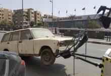 رفع 52 سيارة ودراجة نارية متهالكة من شوارع الجمهورية
