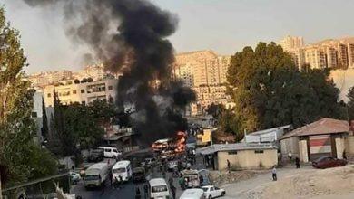 سوريا.. تفجير يستهدف حافلة للجيش في دمشق وأنباء عن سقوط قتلى