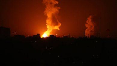 طيران الاحتلال يقصف مواقع في غزة