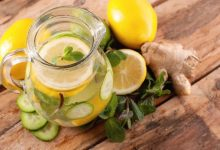 عصير بالزنجبيل لتذويب دهون الكرش بسرعة