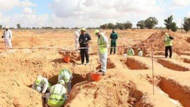 ليبيا.. اكتشاف مقبرة جديدة في ترهونة