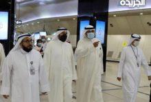 وزير الصحة يتفقد الإجراءات الصحية في مطار الكويت الدولي