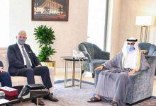 الغانم يستقبل رئيس الدورة 75 للجمعية العامة للأمم المتحدة