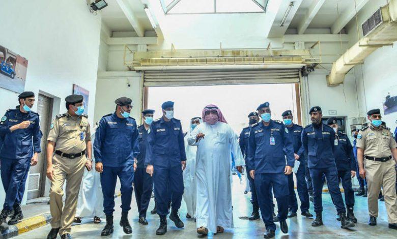 الشيخ ثامر العلي: قطاع الخدمات المساندة يقدم دعماً لوجستياً للمنظومة الأمنية