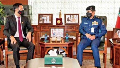 رئيس الإطفاء بحث تعزيز التعاون مع سفير فيتنام