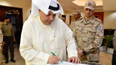 وزير الدفاع يزور هيئة الاستخبارات والأمن