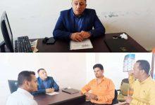 لقاء بمكتب الإعلام بحضور نائب  المحافظ  يناقش تعزيز العمل المشترك بين مكتب الإعلام و جمعيةالصم م/ أبين