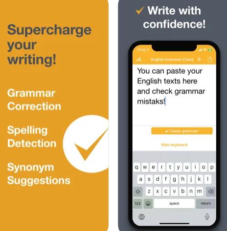 تطبيق CorrectMe - لتصحيح الكلمات وأخطاء الكتابة