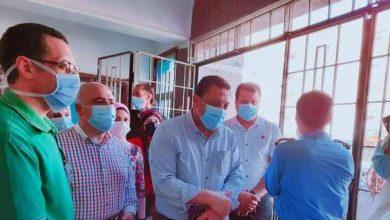 وكيل وزارة الصحة بالمنوفية يتفقد مستشفي الشهداء