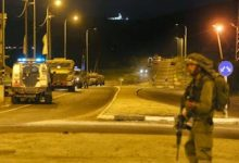 اشتباك مسلح مع جيش الاحتلال على حاجز الجلمة