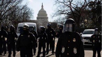اعتقال 4 أشخاص بمحيط مبنى الكابيتول في واشنطن