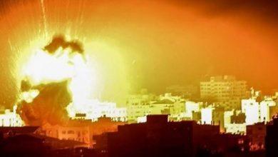 الاحتلال يقصف مواقع للمقاومة في غزة