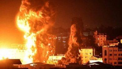 الاحتلال يقصف مواقع للمقاومة في قطاع غزة